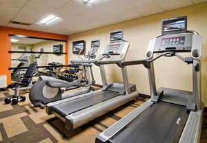 Fitness/ Exercise Room - Courtyard by Marriott Hotel Overland Park