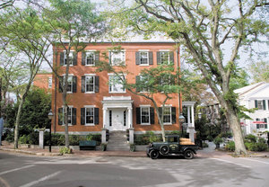 Exterior view - Jared Coffin House Hotel Nantucket