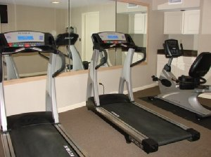 Fitness/ Exercise Room - Rockport Inn & Suites