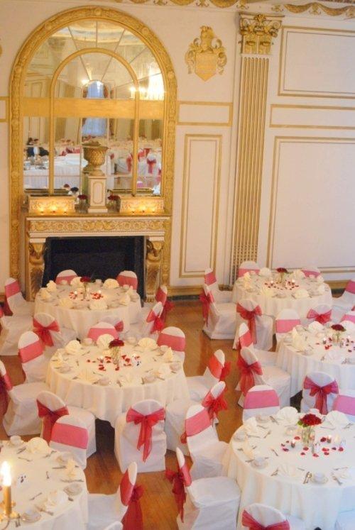 The George Washington Ballroom Fireplace Color Pho