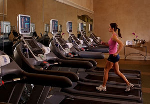 Fitness/ Exercise Room - Courtyard by Marriott Hotel Upper French Qtr New Orleans