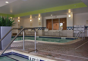 Pool - Fairfield Inn & Suites by Marriott Hazleton
