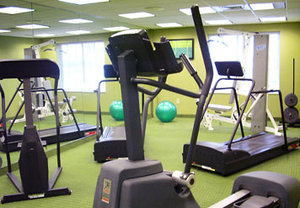 Fitness/ Exercise Room - Fairfield Inn & Suites by Marriott Hazleton