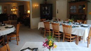 Restaurant - Wooden Duck Bed & Breakfast Inn Newton