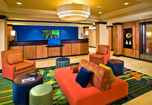 Lobby - Fairfield Inn by Marriott Bradley Airport Windsor Locks