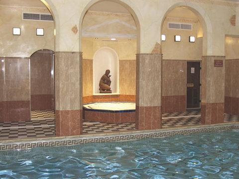 Roman Spa Hot Tub