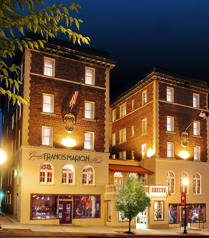 The General Francis Marion Hotel in Historic Mari