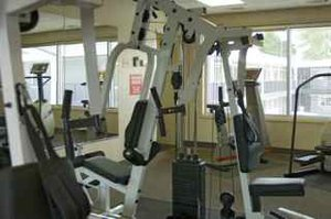 Fitness/ Exercise Room - Carlton Inn Midway Airport Chicago