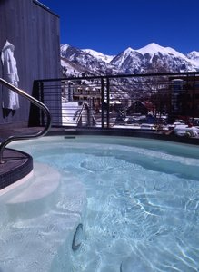 Pool - Camel's Garden Hotel Telluride