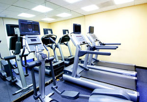 Fitness/ Exercise Room - SpringHill Suites by Marriott Fresno