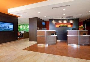 Lobby - Courtyard by Marriott Hotel Acadian Baton Rouge