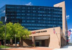 Exterior view - Marriott Hotel Inner Harbor Baltimore