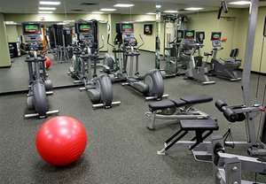 Fitness/ Exercise Room - Courtyard by Marriott Hotel Downtown Denver