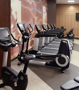 Fitness/ Exercise Room - Marriott Hotel Downtown Des Moines
