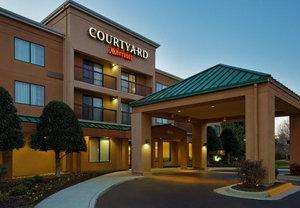 Exterior View Courtyard By Marriott Hotel Chesapeake
