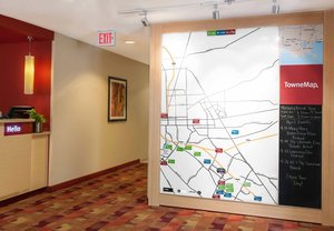Map - TownePlace Suites by Marriott Baton Rouge