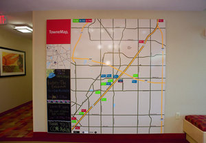 Map - TownePlace Suites by Marriott DeSoto