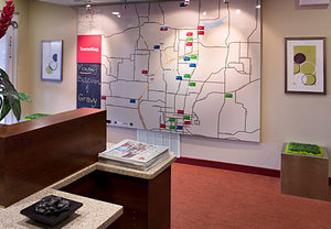 Map - TownePlace Suites by Marriott West Little Rock