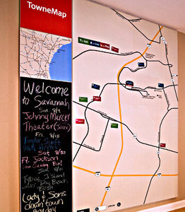 Map - TownePlace Suites by Marriott Airport Savannah