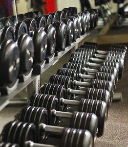 Fitness/ Exercise Room - Marriott Hotel Greenbelt