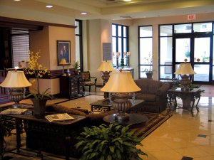 Lobby - Cook Hotel at LSU