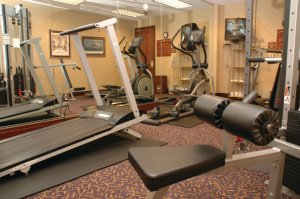 Fitness/ Exercise Room - Cook Hotel at LSU
