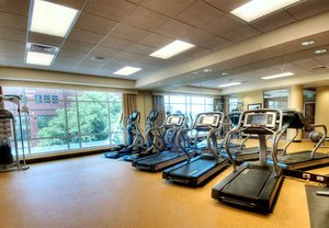 Fitness/ Exercise Room - Courtyard by Marriott Hotel Downtown Greenville