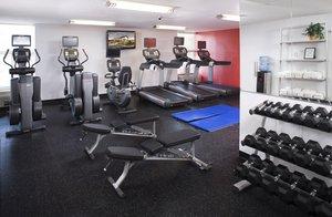 Fitness/ Exercise Room - Radisson Hotel Roseville