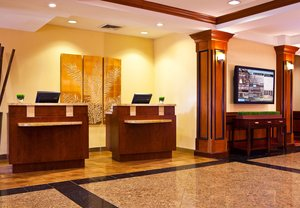 Lobby - Courtyard by Marriott Hotel Cranbury