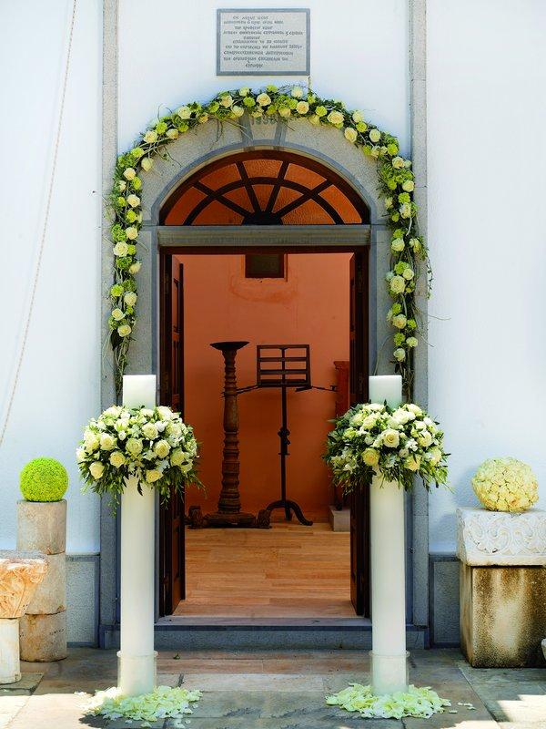 Another Wedding Decoration In Elounda