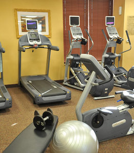 Fitness/ Exercise Room - Marriott Hotel Cedar Rapids