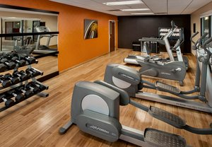 Fitness/ Exercise Room - Courtyard by Marriott Hotel Parsippany