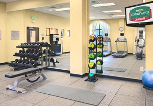 Fitness/ Exercise Room - Courtyard by Marriott Hotel Houma