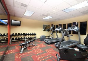 Fitness/ Exercise Room - Courtyard by Marriott Hotel Topeka