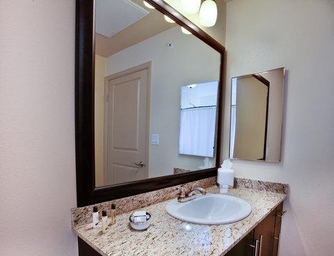 Woodland Hills Furnished Apartment Bathroom