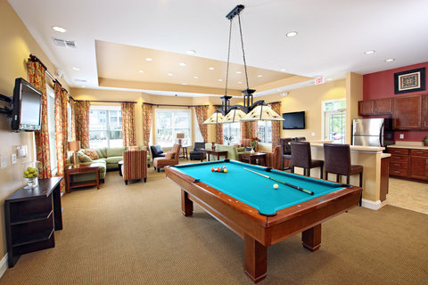 Petersburg Furnished Apartment Clubhouse Interior