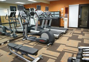 Fitness/ Exercise Room - Courtyard by Marriott Hotel Monroeville