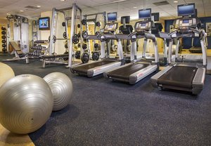 Fitness/ Exercise Room - Marriott Hotel BWI Airport Linthicum