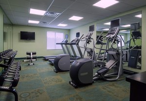Fitness/ Exercise Room - SpringHill Suites by Marriott South Baton Rouge