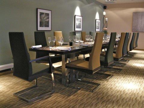 Restaurant private dining area