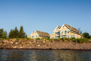 Exterior view - Larsmont Cottages Two Harbors