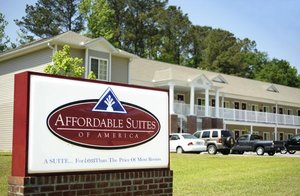 Exterior view - Affordable Suites of America Greenville