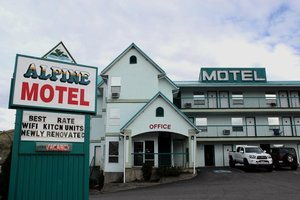 Exterior view - Alpine Motel Kamloops