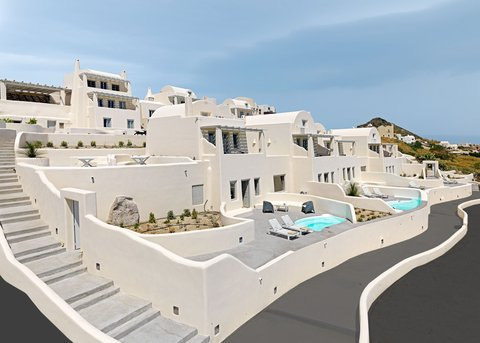 Dome Santorini Resort Exterior
