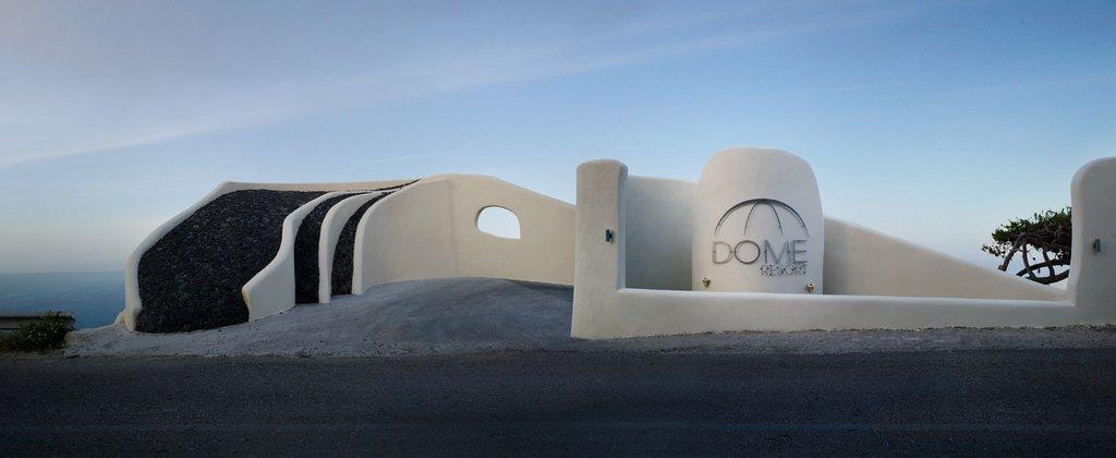 Dome Santorini Resort Hotel Entrance