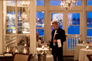 Restaurant - Chanler at Cliff Walk Hotel Newport