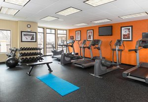 Fitness/ Exercise Room - Courtyard by Marriott Hotel Natick