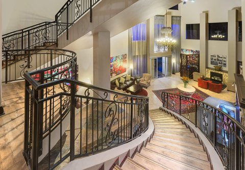 Hotel Entrance & Staircase