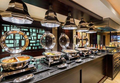 Coalhouse Restaurant - Buffet Area