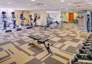 Fitness/ Exercise Room - Courtyard by Marriott Hotel Atlantic City